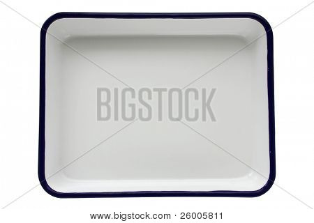 Emaille Butcher Tray Palette