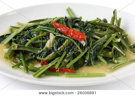 Stir Fried Water Spinach