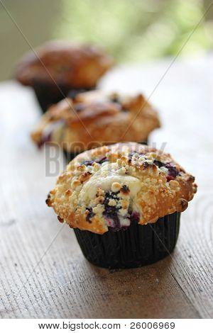 Homemade Blueberry Muffin