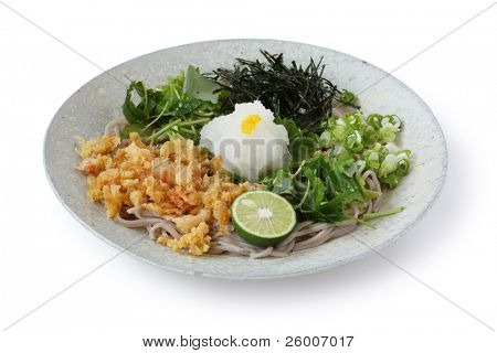 Soba , Buckwheat noodles , Japanese Traditional Food