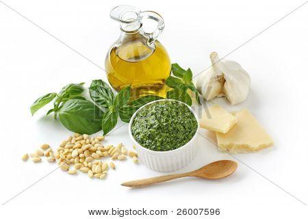 Pesto alla Genovese , Basil Sauce