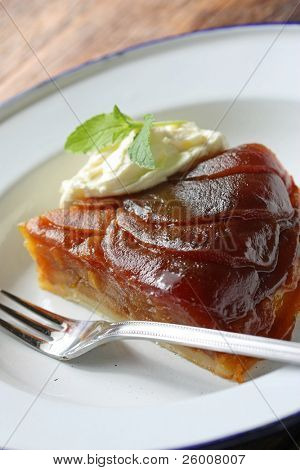 Tarte Tatin , Upside-down Apple Tart