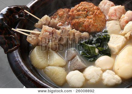 Oden, japanisches Essen