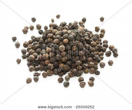 black pepper, black peppercorn , indian spice