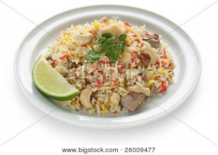 chicken biryani , indian pilau rice