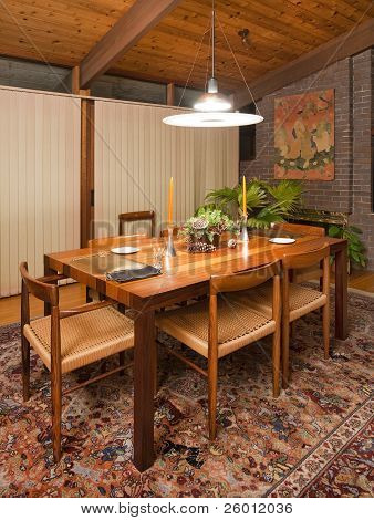 odern dining room