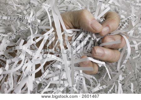 Paper Shred Fist