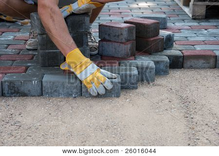 Pavers Hands