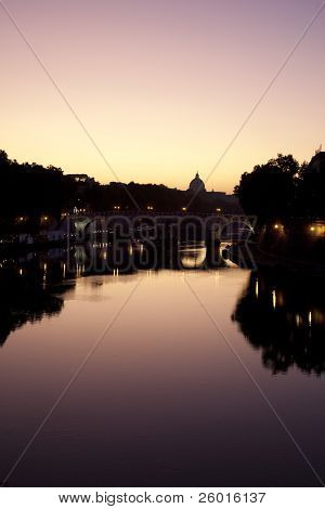 river Tiber rome landscape