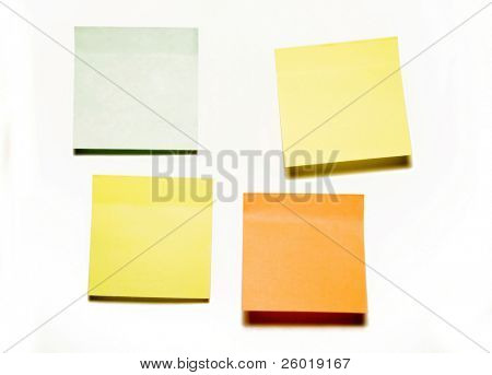 Colorful self-adhesive office stickers