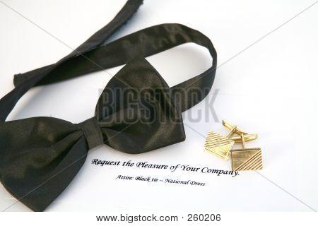 Schwarze Krawatte-Ereignis