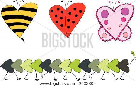 Vector_Bug_Hearts.Eps