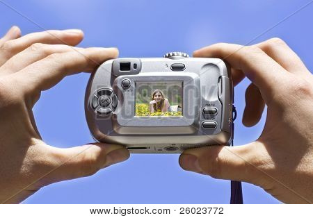 Photographing with point and shoot digital camera