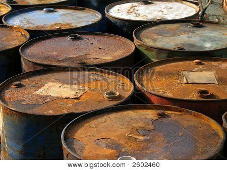 Rusty barris