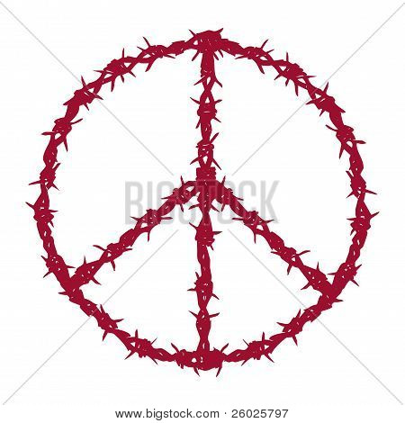 barbed wired peace
