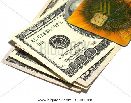Dollars and credit card