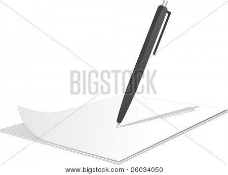 用笔在上面剪贴板 库存矢量图和库存照片 | bigstock