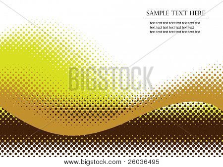 Halftone background. Vector illustration with space for text or logo