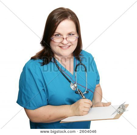 Nurse Takes Medical History