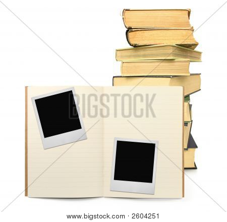 Exercise Book And Two Photo Frames #2