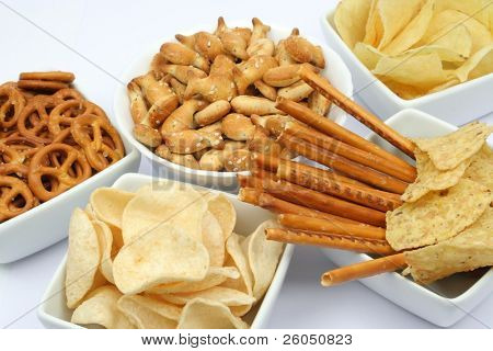 Chips und snacks