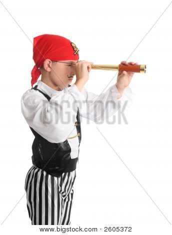 Pirate Searching Using A Spotting Scope
