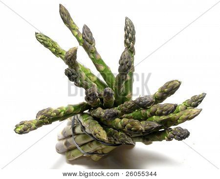 asparagus from above