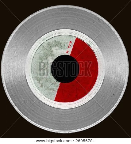 abstract grunge vinyl