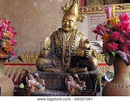 buddha in temple thailand