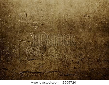 red brown grunge wall