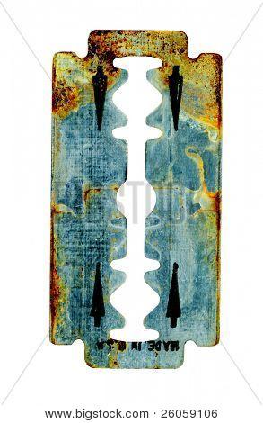 old razor blade