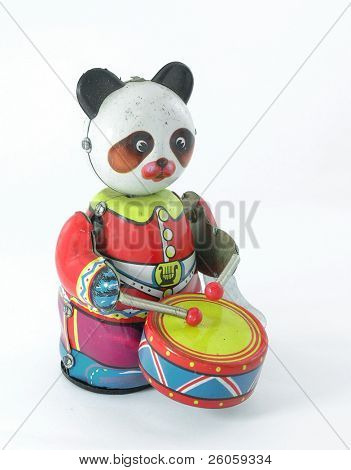 old music panda toy