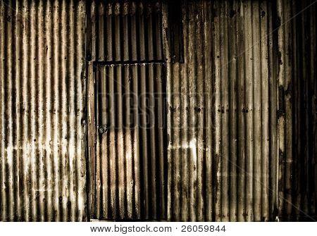 monochrome rust background