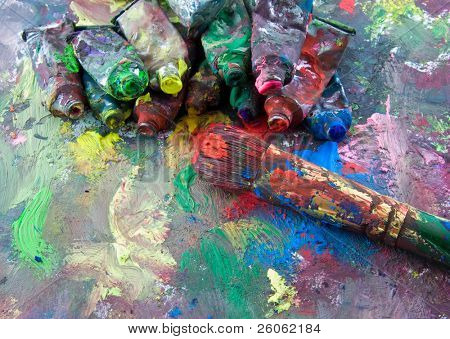 alte Farben