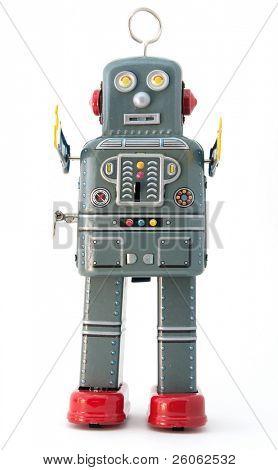 brinquedo robô retrô