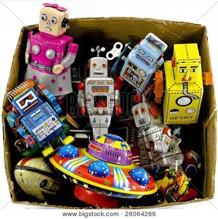 alte Blechspielzeug