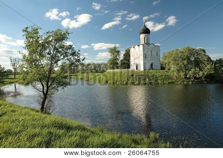 Church of the Intercession of the Virgin on the Nerl, Russia