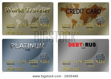 4 Credit Cards