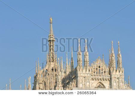 Milan's Duomo Cathedral.