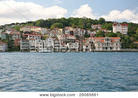 View of the bosporus, Istanbul turkey
