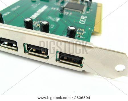 Usb Ports Controler Card