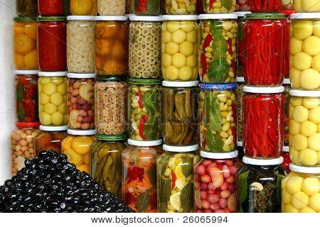 Gemüsemarkt in Marokko