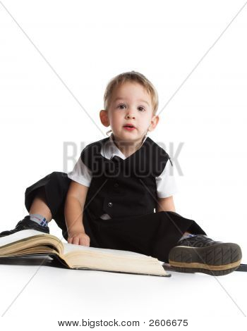 The Boy Reads The Book