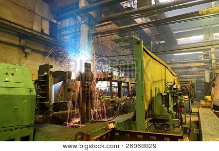 welder at factory