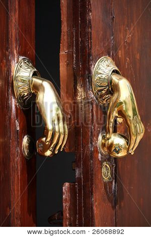 Door handle/knocker in Spain