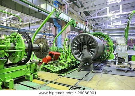 Industrial space (Auto tires production)