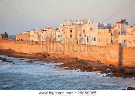 Essaouira, old Portuguese city in Morocco