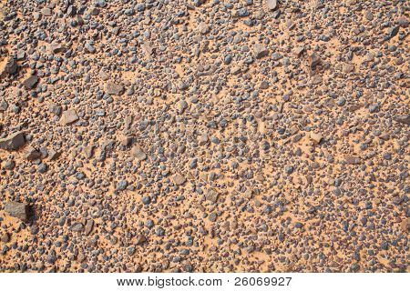 Stone desert background (Sahara region)