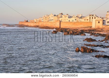 Essaouira, old Portuguese city in Morocco