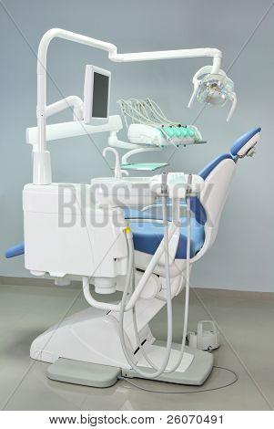 Silla de dentista moderno